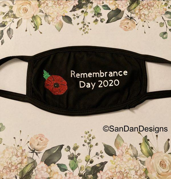 Remembrance day 2020 facemask
