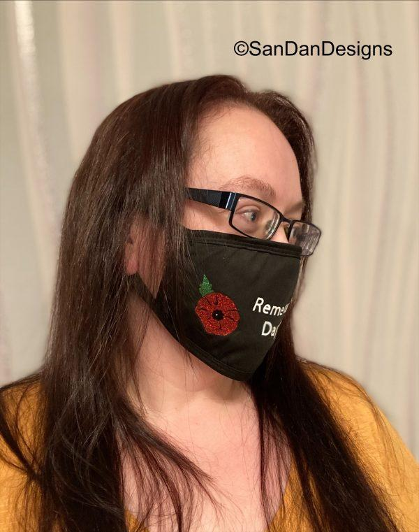 Remembrance day 2020 facemask shot 2